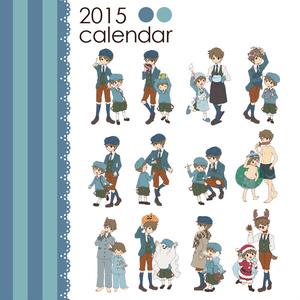 2015年ミニ卓上カレンダー