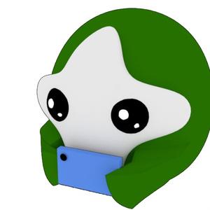 OMTNS Green スマホリング 縦