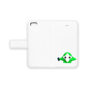 OMTNS Green 手帳型iPhoneケース