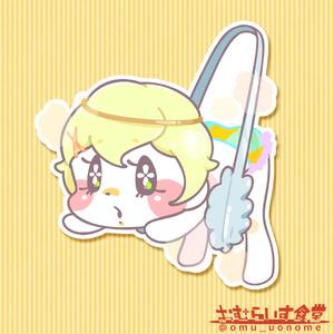 【ステッカー】メロンパン
