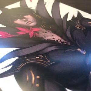 黒い王 - ポストカード