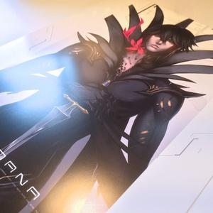 黒い王 - ミニポスター