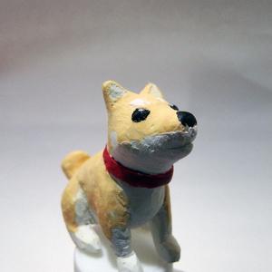 (販売終了)しば犬のフィギュア