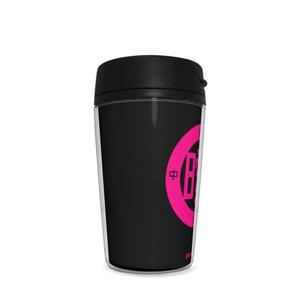 タンブラ (ピンク×黒)