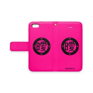 アイポン手帳型 (ピンク)