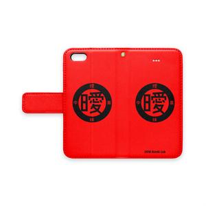 アイポン手帳型 (赤)