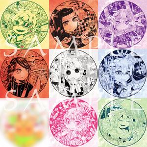 鉛姫シリーズ 缶バッジコレクション
