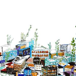 絵本:水草の街