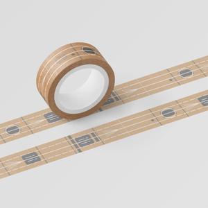 空母赤城 飛行甲板風マスキングテープ