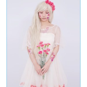 創作写真『_fleur』二つ折りミラー