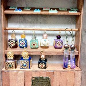 魔法の小瓶 耳飾り