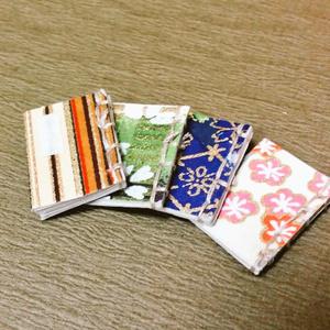 ミニチュア和風豆本2冊セット(ねんどろいどにも使える1/12サイズ)
