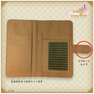 白雪姫アンネローゼデザイン 手帳型Androidケース【タワー オブ プリンセス】