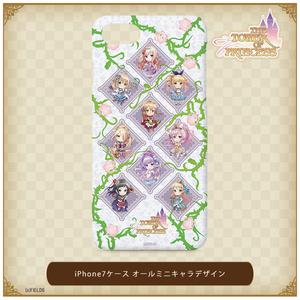 オールミニキャラデザイン iPhone7ケース【タワー オブ プリンセス】