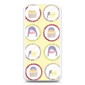 ペンギンのおやつタイム iPhoneケース