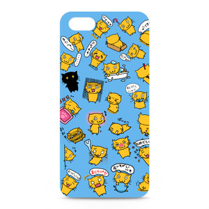 PuniNUKOケースブルー iPhone5・5S