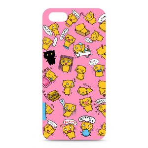 PuniNUKOケースピンク iPhone5・5S
