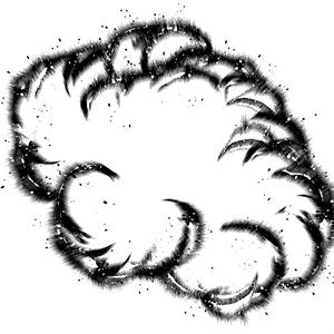 【コミスタ】爆発ブラシ2
