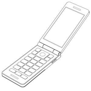 【コミスタ・クリスタ汎用】携帯電話3D
