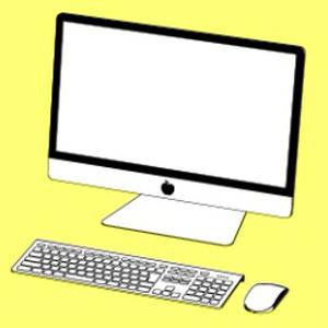 Appleパソコン3D【コミスタ・クリスタ兼用】