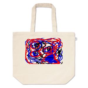 トートバッグ抽象画01