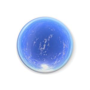 空の缶バッジ - C002