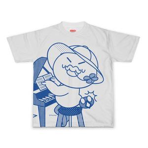 PERORINE Ilove music D フルグラフィックTシャツ