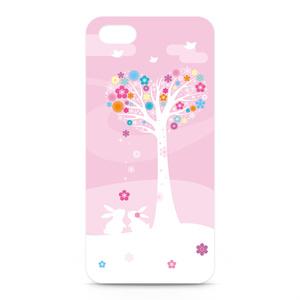 うさぎカップルiPhoneケース ピンク