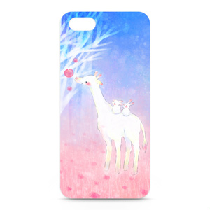キリンとこうさぎのiPhoneケース