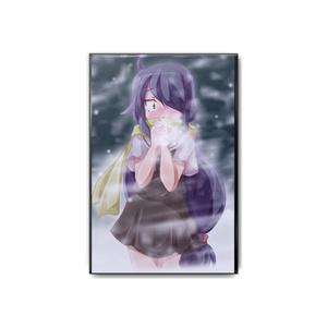 寒い女の子シリーズ缶バッジ 藪塚雪花