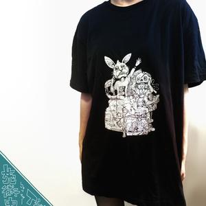 施術中Tシャツ