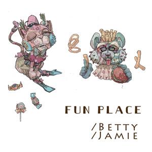 Betty/Jamie ステッカー