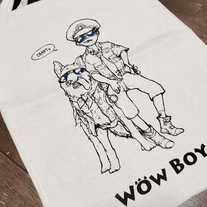 wowboy肩掛けトート-ポリ犬
