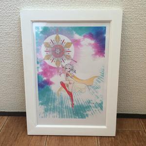 「太陽の女神」2Lサイズ・額付き