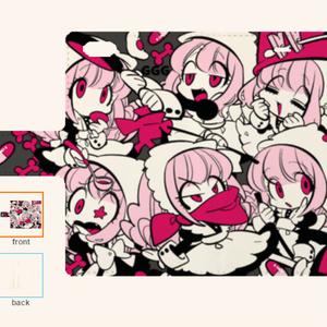 おとぼけメイドちゃんiPhone手帳型ケース6/6s