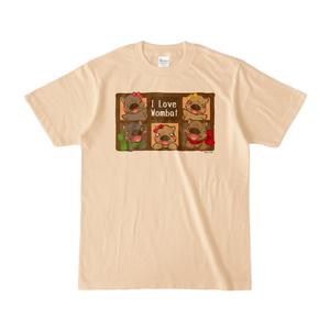 Tシャツ-ウォンバット(五匹)