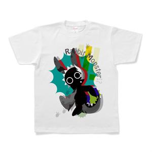 うさぎ怪獣Tシャツ