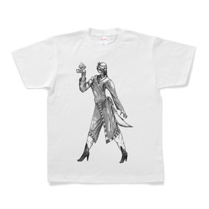 『山人(白黒)』Tシャツ