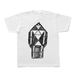 『肩幅が凄いロボット』Tシャツ