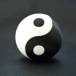 陰陽玉(黒)