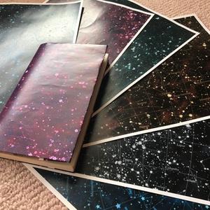 【無配】星座図ブックカバー・6種類
