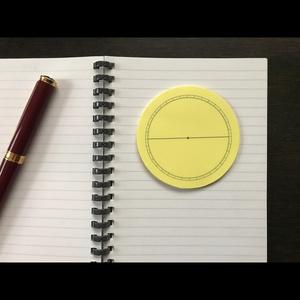 ホロスコープチャート用付箋【送料込】