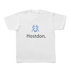 HostdonオリジナルTシャツ