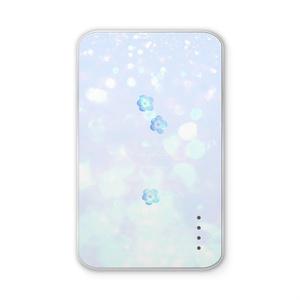 青いネモフィラ モバイルバッテリー