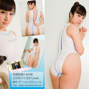 競泳水着の彼女のペシェ 夏目雅子 Vol1~4+非売1作品セット