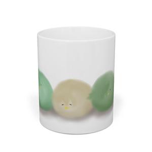 ぴよぴよおおかねひらマグカップ