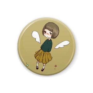 ボブっ子天使ちゃん缶バッチ