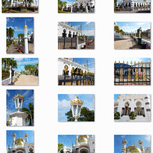 写真素材_宮殿風モスク・1600×1200
