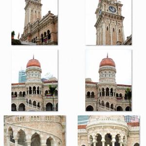 写真素材_英国アラブ風建築2種