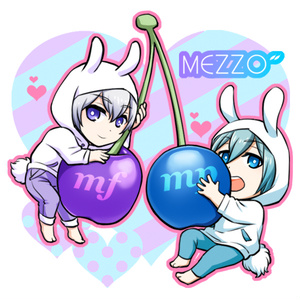 "MEZZO""&CHERRY アクリルキーホルダー"